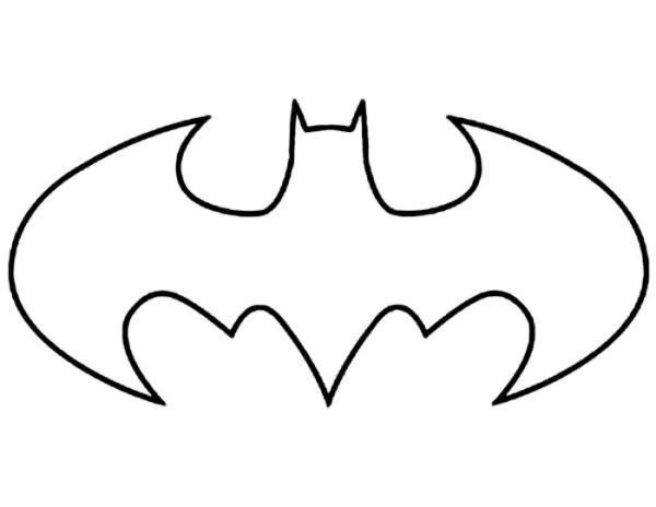 Batman Logo Coloring Page Who Doesn T Know Batman Maybe All Dc Fans And Superhero Movie Fans Must Have He Manualidades Batman Para Colorear Cumpleanos Batman