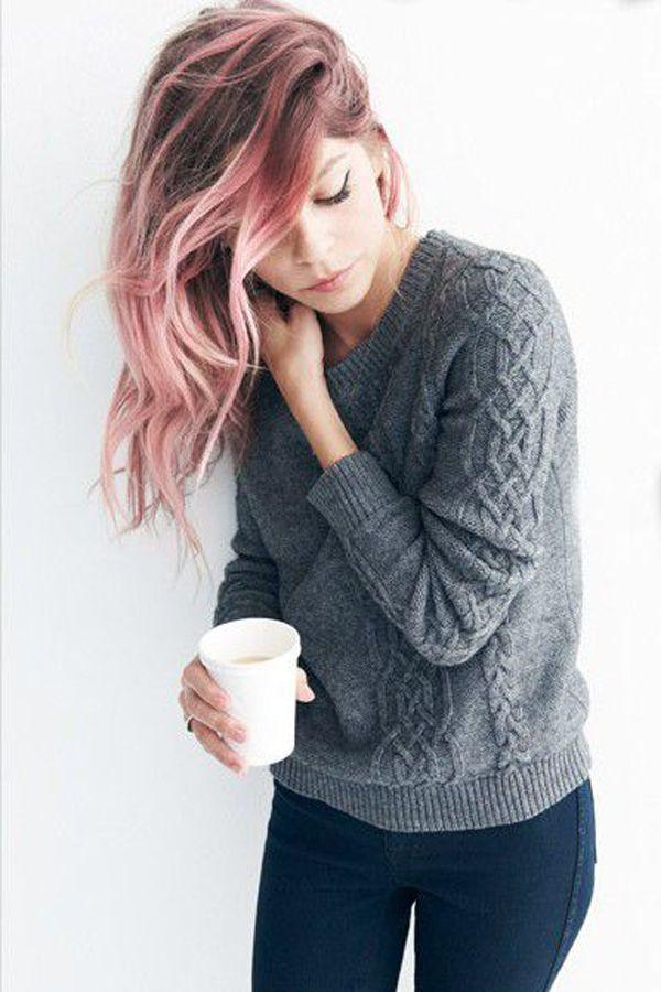 Haarfarben Trend: Pastell