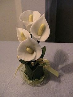 flores de porcelana fria (2) | Aprender manualidades es facilisimo.com