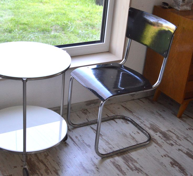 Excited to share the latest addition to my #etsy shop: Thonet, Chairs by Mart Stam, Bauhaus https://etsy.me/2HqeAeU #furniture #brown #black #industrialutility #chairs #1930s #funcionalism #martstam #thonet