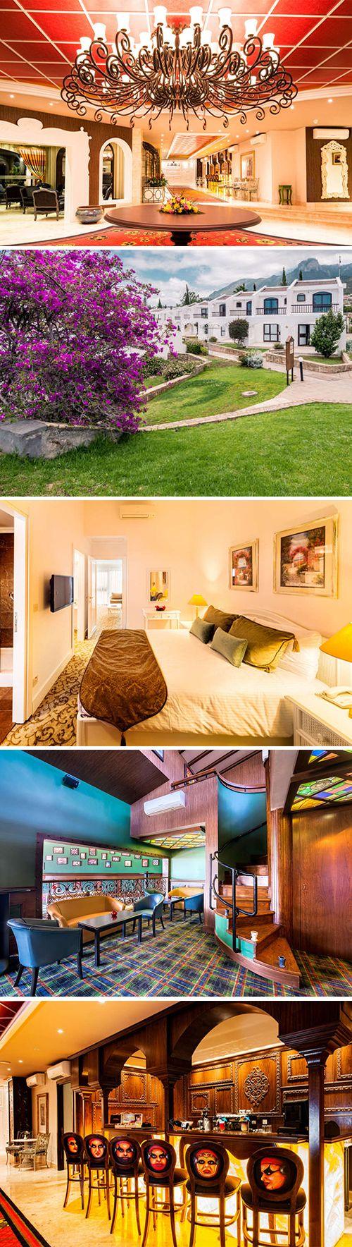 The olive tree hotel is een viersterren hotel gelegen in het noorden van cyprus dankzij de vele faciliteiten