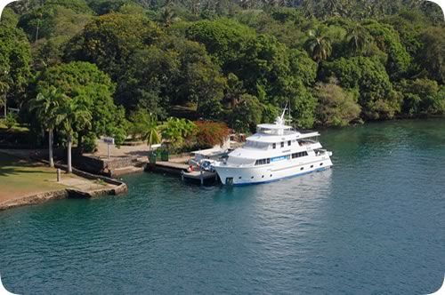 Kalibobo Spirit - Luxurious motor yachting.  http://www.blog.pagahill.com/#!A-Guide-to-Cruising-PNG/c2o6/5614b93c0cf2a7bb74cbb69e