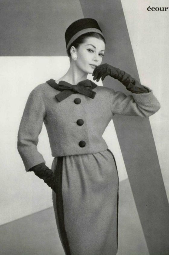 Christian Dior, designed by Yves Saint Laurent, 1959