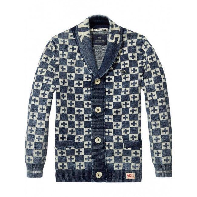 Scotch Shrunk - Vest Knitt indigo