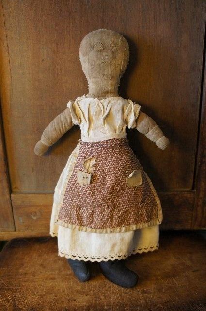 Early rag doll 19th C.