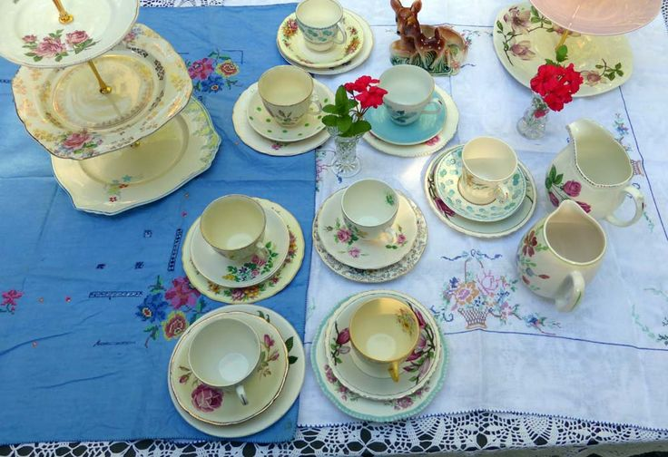 Dinnerware Tea Service