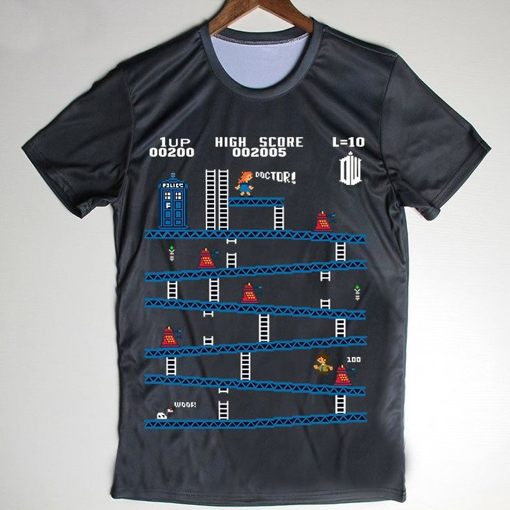 Doctor Who Game Style Shirt