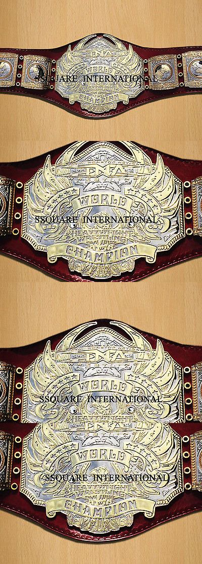 Accessories 36306: Tna World Heavyweight Championship Replica Belt -> BUY IT NOW ONLY: $325.99 on eBay!
