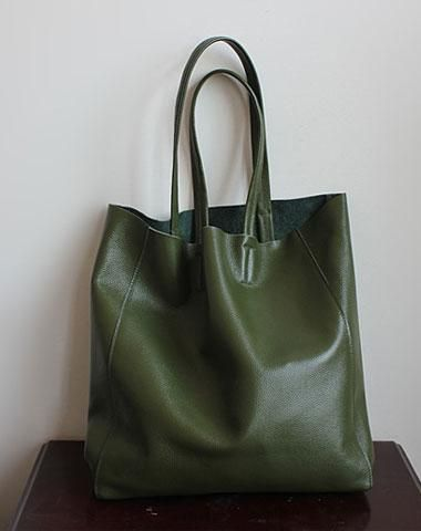 a8012d19978 Handmade Vintage Leather Oversize Tote Bag Shoulder Bag Handbag For Women