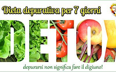 Dieta depurativa per 7 giorni - ricette per tutti i gusti