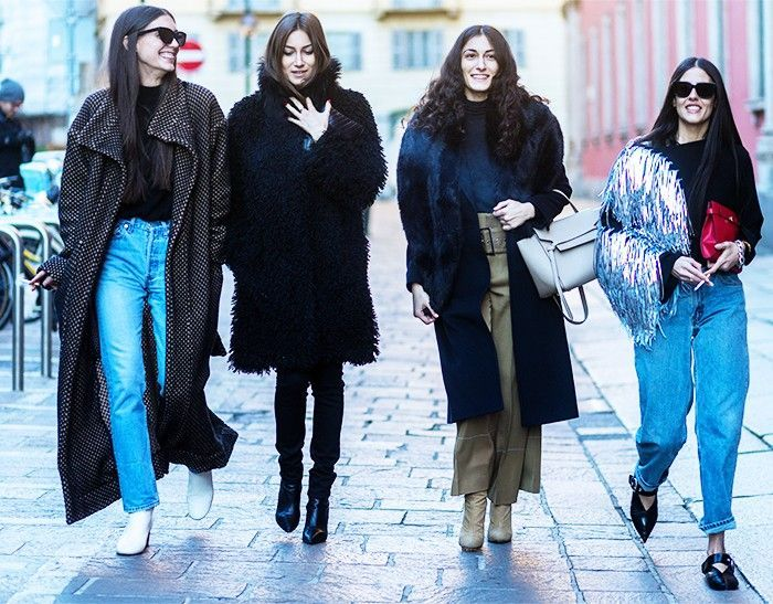 Fashion Squad Goals: The Girl Gang in Style via @WhoWhatWear
