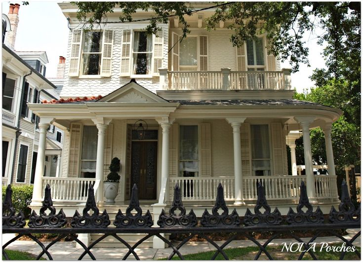 1000 ideas about historic homes on pinterest queen anne - Parking garden district new orleans ...