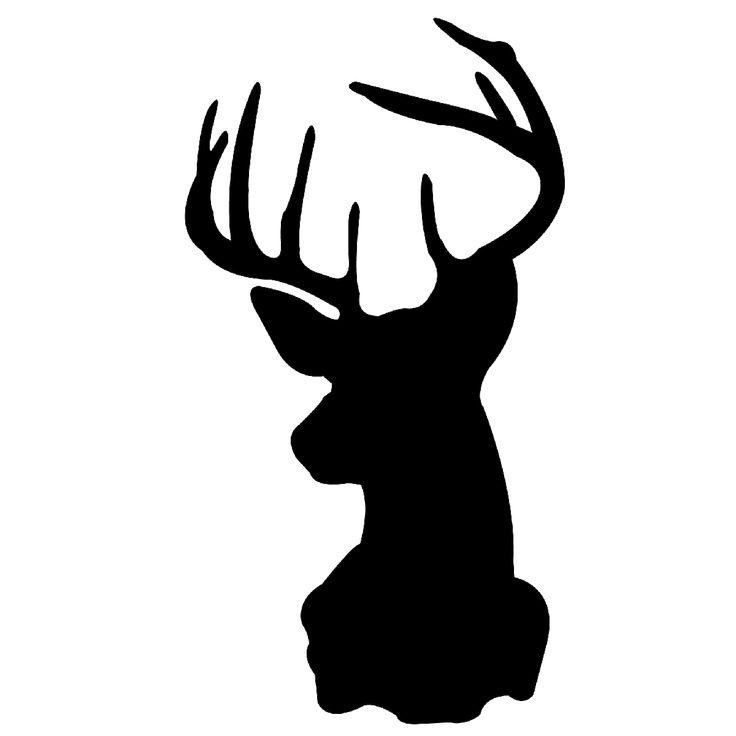 deer head stencil crafty inspirations