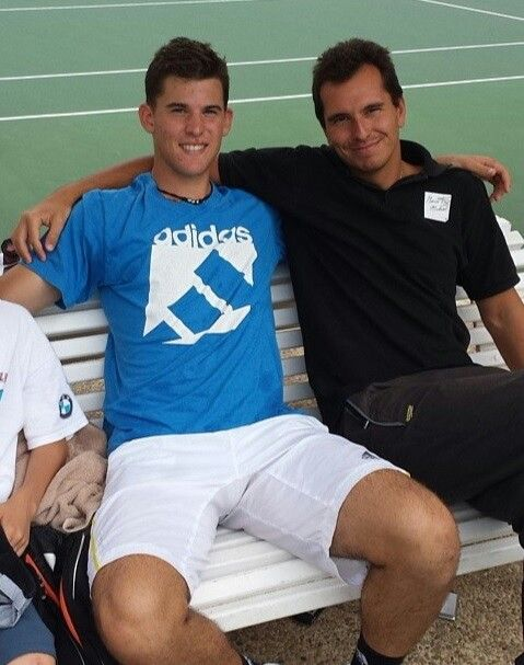 Dominic Thiem looking cute