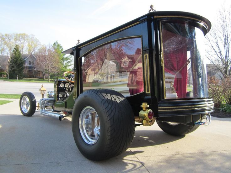 Hot Rod Hearse..Re-pin Brought to you by #CarInsurance at #HouseofInsurance in Eugene, Oregon