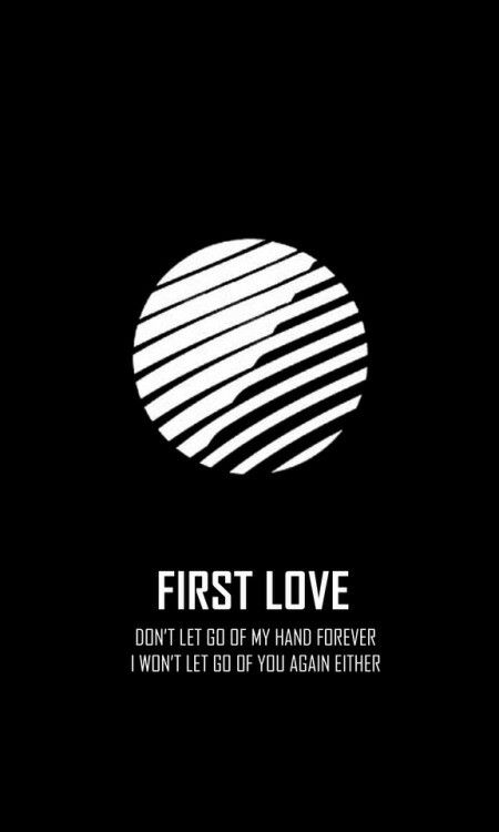 Bts wings short film first love logo wallpaper