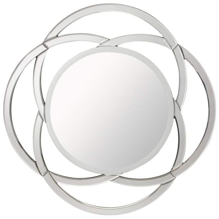 Kichler 78168 Clear Powell Round Sunburst Mirror