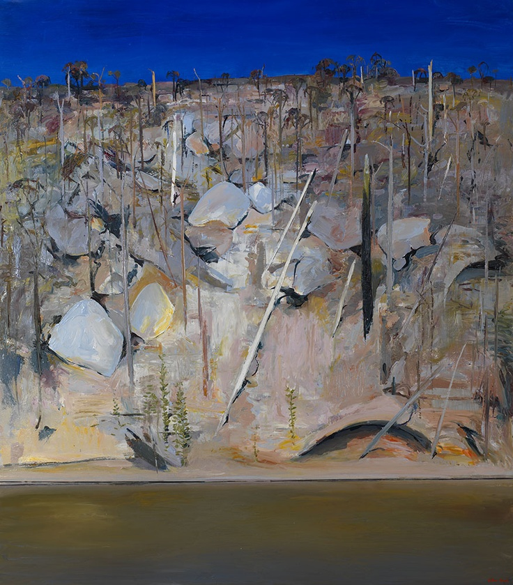 Arthur Boyd - On the banks of the Shoalhaven