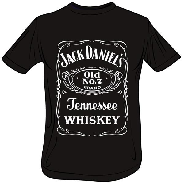 Женская футболка с black daniels