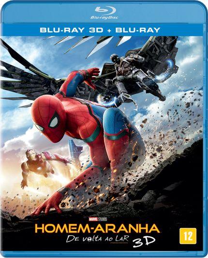 Homem-Aranha - De Volta ao Lar - Blu-Ray 3D + Blu-Ray