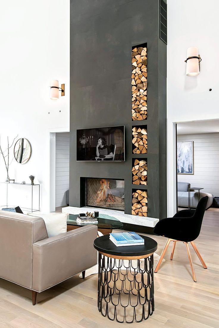 Las 25 mejores ideas sobre chimeneas en pinterest y m s - La chimenea muebles ...