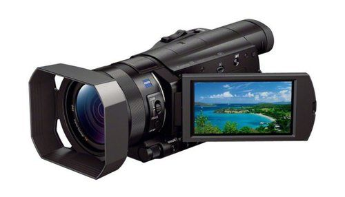 FDR AX100 is Sony's First Consumer Camcorder.
