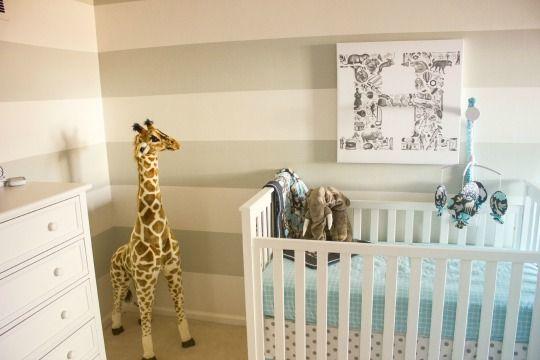 Decorar la habitación del bebé con Jirafas | Decoideas.Net
