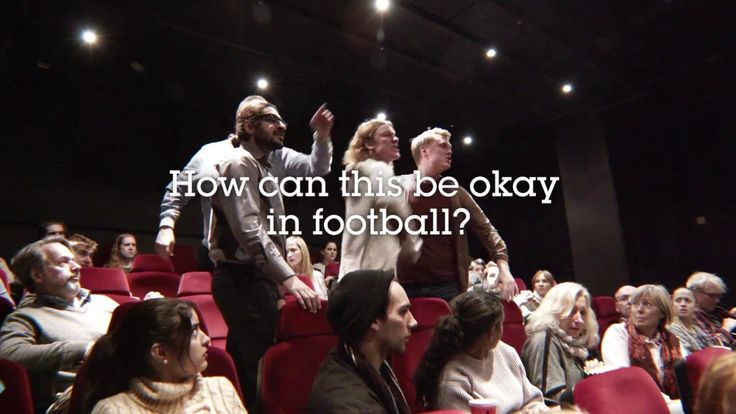 Football without booze  - Cinema