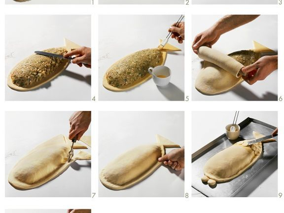 Lachs-Pirogge ist ein Rezept mit frischen Zutaten aus der Kategorie Pastete. Probieren Sie dieses und weitere Rezepte von EAT SMARTER!