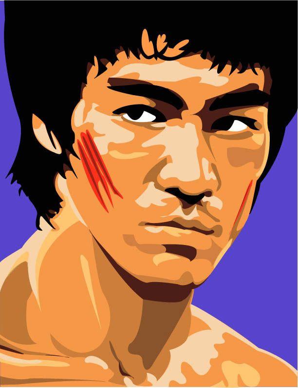 Bruce Lee by jrieman