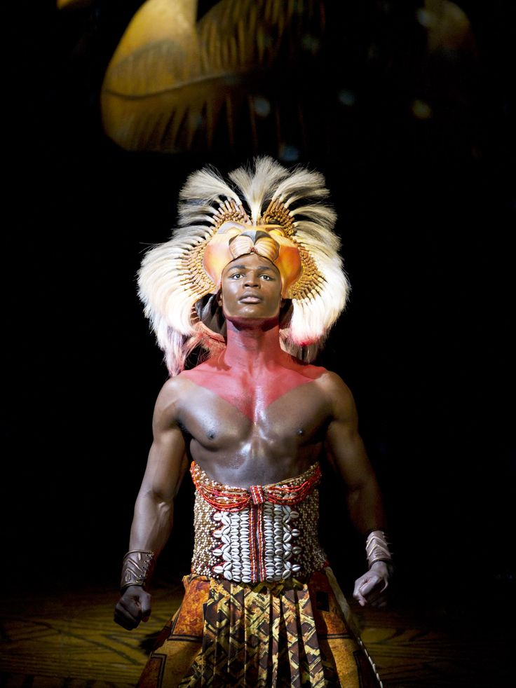 Simba from the Lion King at the Lyceum Theatre.  http://www.theatrepeople.com/shows/the-lion-king