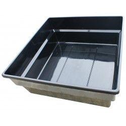 Polyester vijverbak vierkant - 240x240x90 cm - 4750 liter  #vijvershop #vijvers #vijverbak