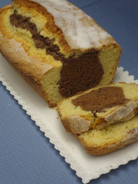 oggi vi presento un'ottima variante del mio plum cake classico al quale ho aggiunto un tocco di cacao! ottimo per colazione e molto light!...