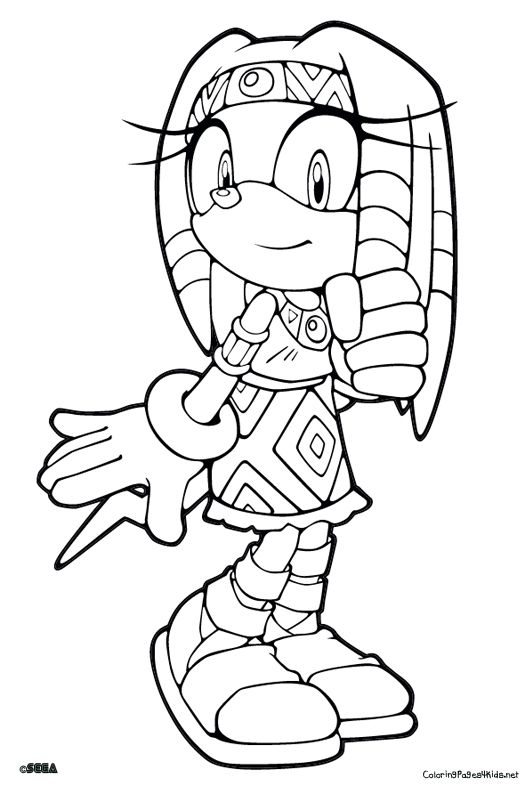 Sonic Coloring Pages Coloring