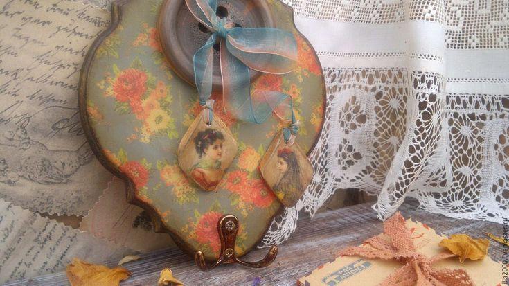Купить Вешалка (ключница) Забытая усадьба - вешалка, ключница, вешалка-ключница, вешалка для кухни