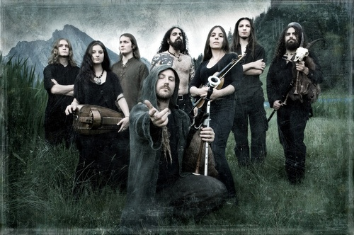 Eluveitie, the behemoth of Folk Metal.