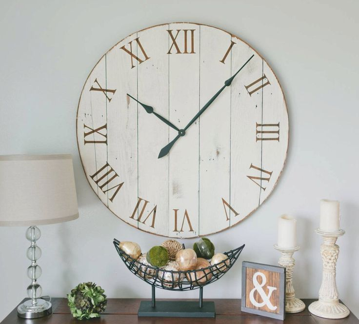 36 inch wall clock. 36 inch clock. Oversized wall clock. Large wall clock. by WoodLaneCreationsLLC on Etsy https://www.etsy.com/listing/268794171/36-inch-wall-clock-36-inch-clock