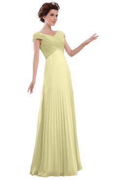 Yellow Casual Wedding Dresses