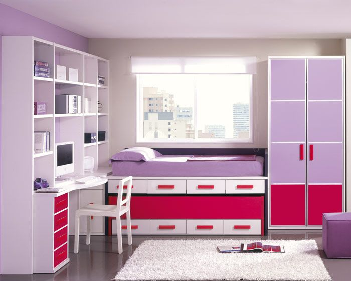 60 best images about room ideas on pinterest little girl for Juego de cuartos juveniles