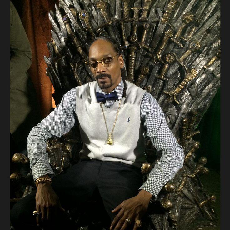 Snoop Dogg s'empare du Trône de Fer de Games of Thrones | HollywoodPQ.com