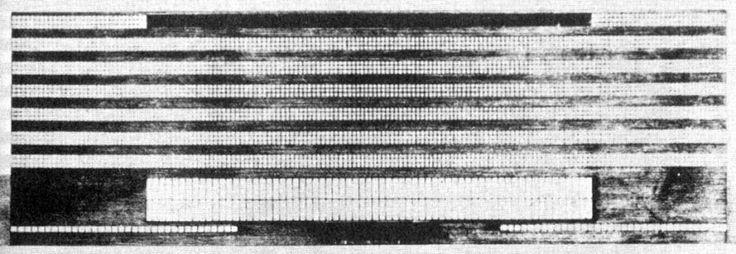 Проект Рейхсбанка в Берлине, 1933. Архитектор Людвиг Мис ван дер Роэ