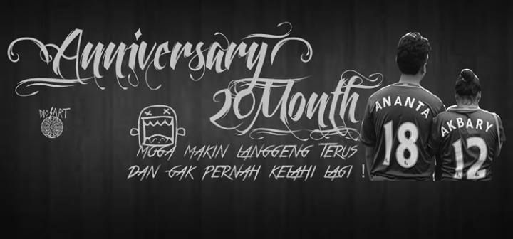 Anniversary 20 month ANANTA :*