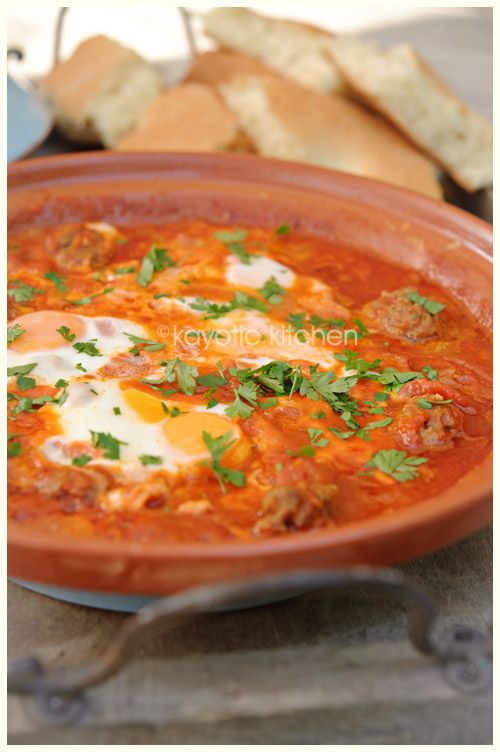 this traditional Moroccan dish would be the very first meal I'd cook in it. Kefta Mkaouara is a simple, no-nonsense spicy meatball tagine that is to die for.