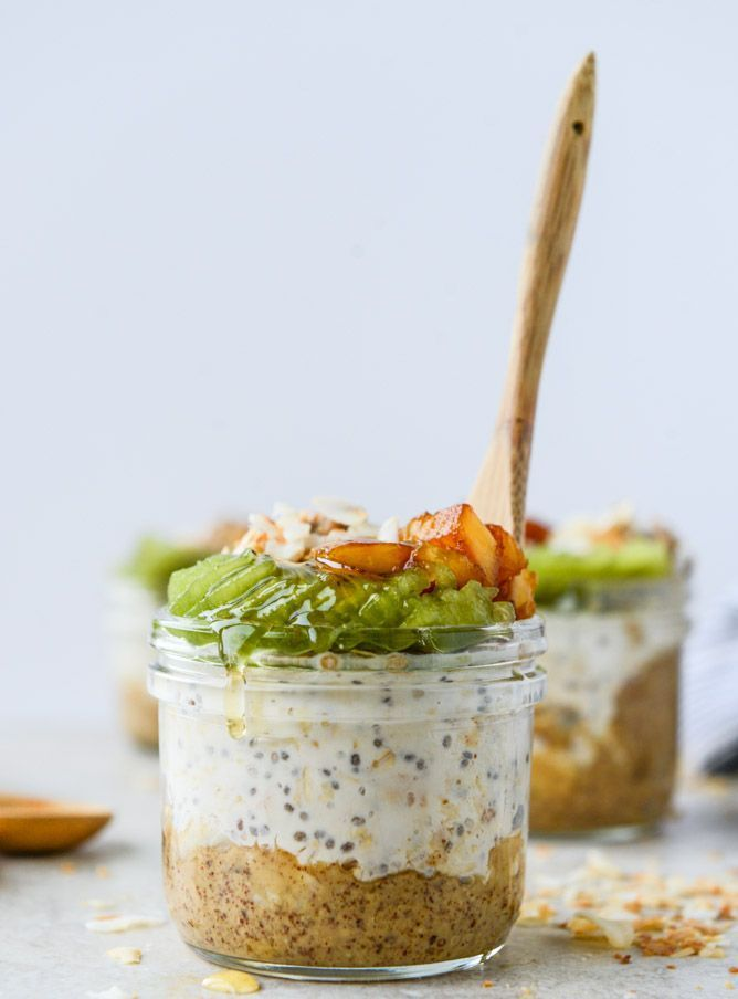 Toasted Coconut Overnight Oats