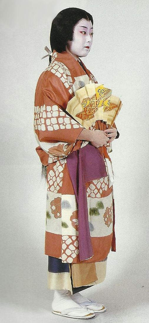 "Scan from book ""The History of Women's Costume in Japan.""  Scanned by Lumikettu of Flickr.  Exacting recreation of Japanese costume many centuries ago…"