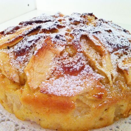Apple cake for Sunday breakfast - Torta di mele della domenica