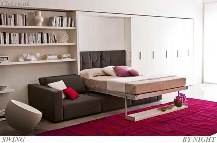 Wall bed | Bonbon wall beds UK · London space saving furniture and wall bed specialist.