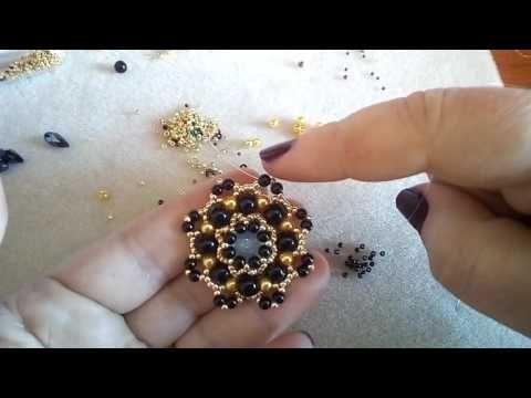 Tutorial Orecchini Cristina (19) - YouTube