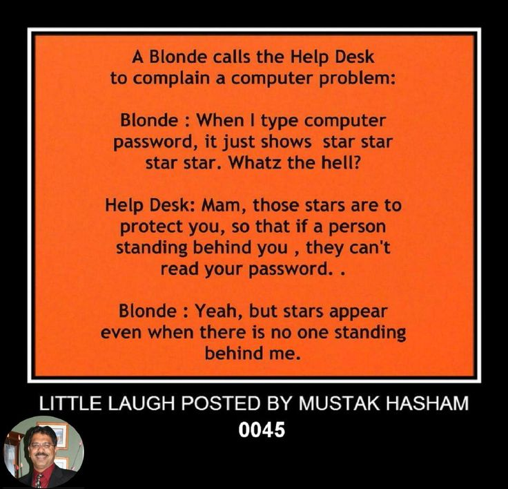 Blonde Star Jokes
