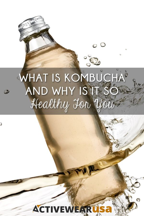 Get healthy from the inside out with this delicious, probiotic-rich, fermented tea. And learn how to brew your own kombucha. #kombucha